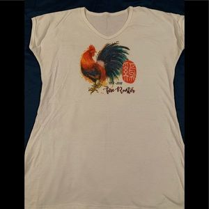Year Of the Fire Rooster T shirt